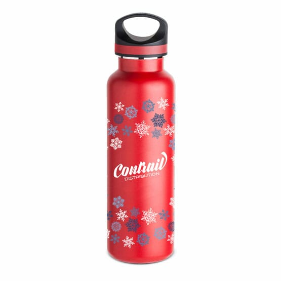 20-oz Basecamp® Insulated Snowflake Bottle