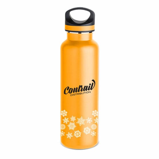 20 oz Basecamp® Insulated Bottle-White Snowflake