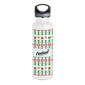 20 oz Basecamp® Insulated Bottle-Ugly Sweater Red
