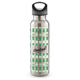 20 oz Basecamp® Insulated Bottle-Ugly Sweater White