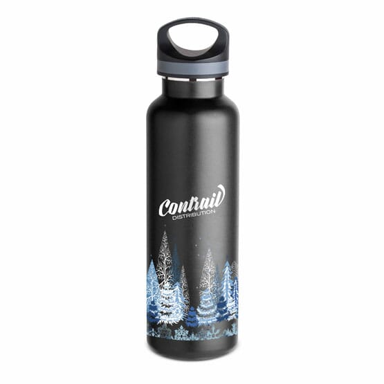 20 oz Basecamp® Insulated Bottle-White Forest