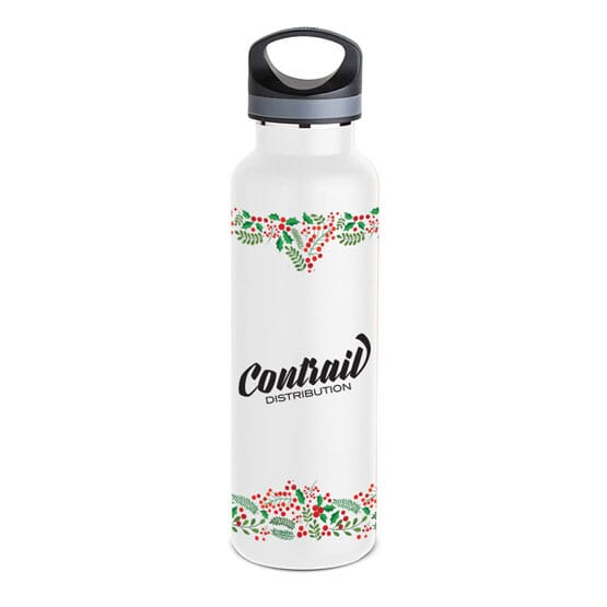 20 oz Basecamp® Insulated Bottle-Winter Greens