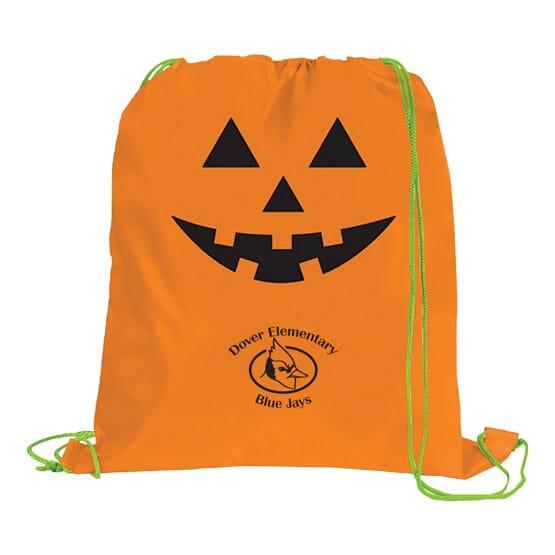 Festive Holiday Drawstring Bag