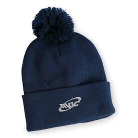 Pom-Pom Knit Hat