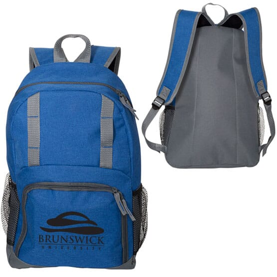 Spacious Snow Canvas Backpack
