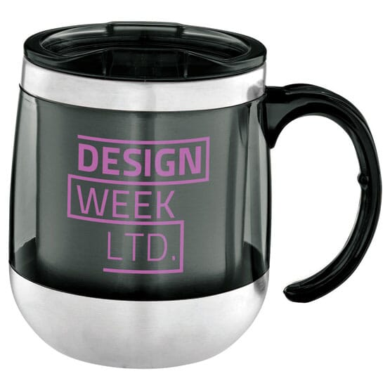 14 Oz No Spill Desk Mug