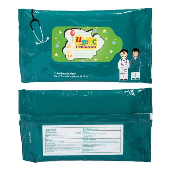 Healthcare Professionals Anti-Bacterial Wipes