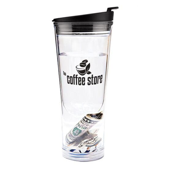 14 oz Hot or Cold Tumbler with Compartment