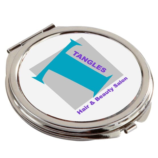 Imprinted Mirror Compact
