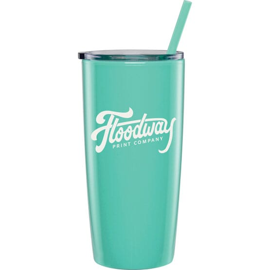 20 oz Color Match Tumbler and Straw