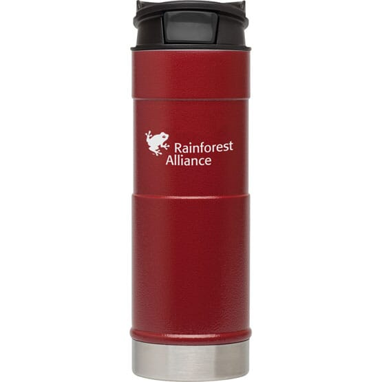16 oz Stanley® Push Button Travel Mug