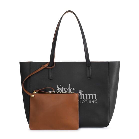 Boston Tote with Removable Wristlet