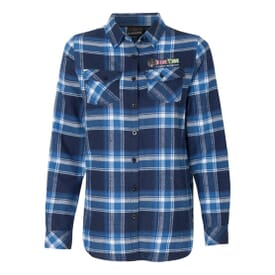 Burnside® Women's Plaid Flannel Shirt