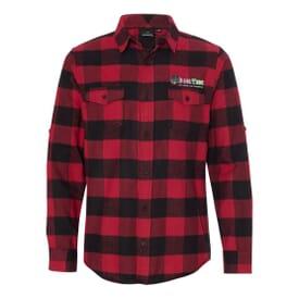 Burnside® Men's Plaid Flannel Shirt