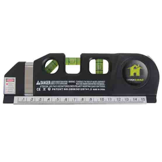 Combination Laser Level and Tape Measure