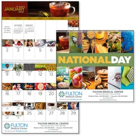2021 National Days Wall Calendar