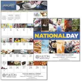 2022 National Days Wall Calendar