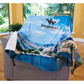 Foto Vision™ Plush Throw Blanket