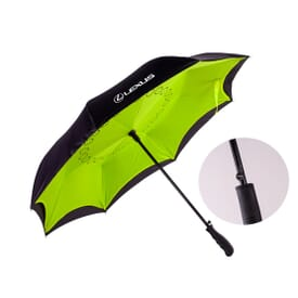 Inverted Auto-Close Umbrella