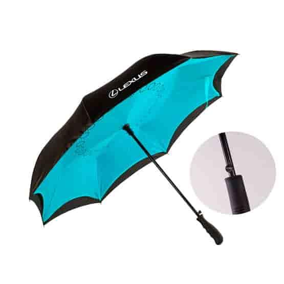Inverted Auto-Close Umbrella