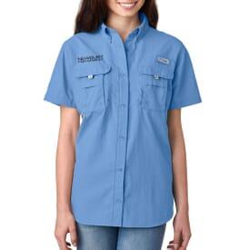 Ladies' Columbia® Bahama™ II Short-Sleeve Shirt