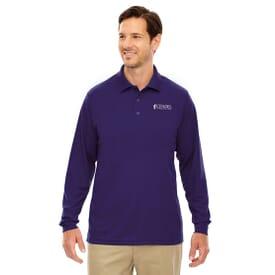Core 365™ Long Sleeve Pique Polo Shirt – Men's