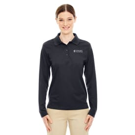 Core 365™ Long Sleeve Pique Polo Shirt – Ladies'
