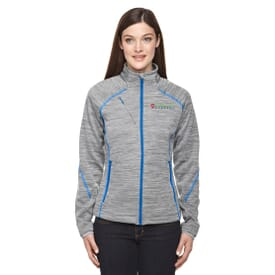 North End Sport® Flux Melange Jacket - Ladies'