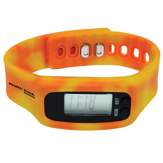 Color Changing Pedometer Wristband
