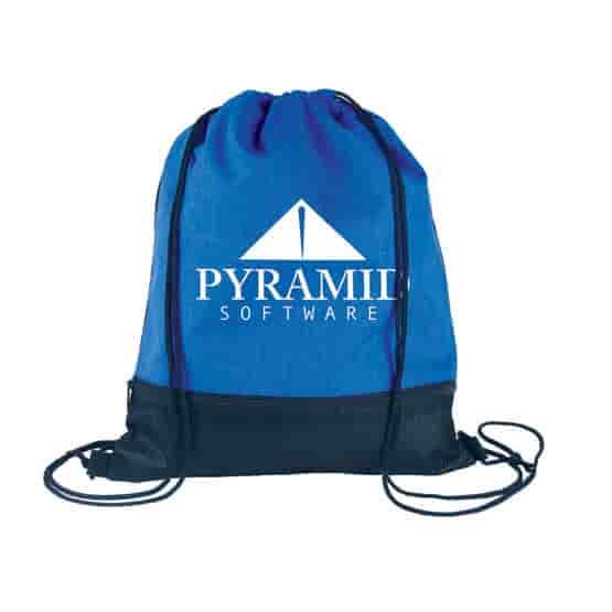 Everyday Pocket Drawstring Bag