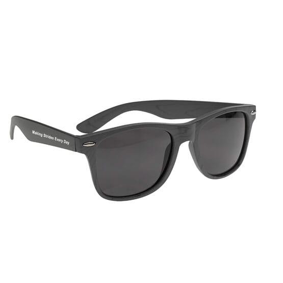 Cruise Retro Designer Wood Tone Sunglasses