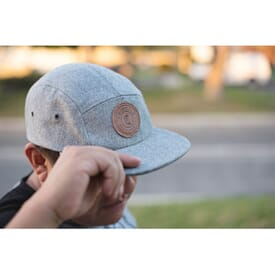 Wool Look Camper Cap