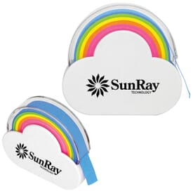 Rainbow Cloud Sticky Note Dispenser