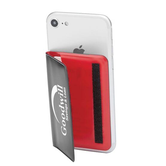 Cinch Phone Wallet & Stand – Slim Vinyl Bifold