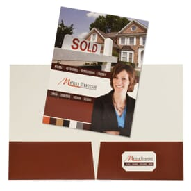 Full Color Cardstock Folder
