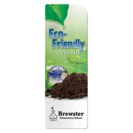 Eco-Friendly Lifestyle Bookmark