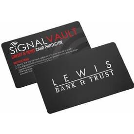 Secure Signal RFID Card