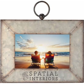 "4"" x 6"" Galvanized Metal Picture Frame"