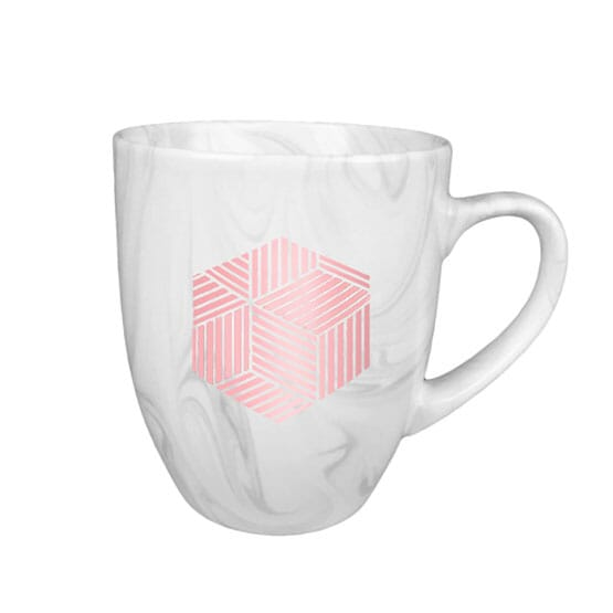 18 oz Ceramic Marble Mug
