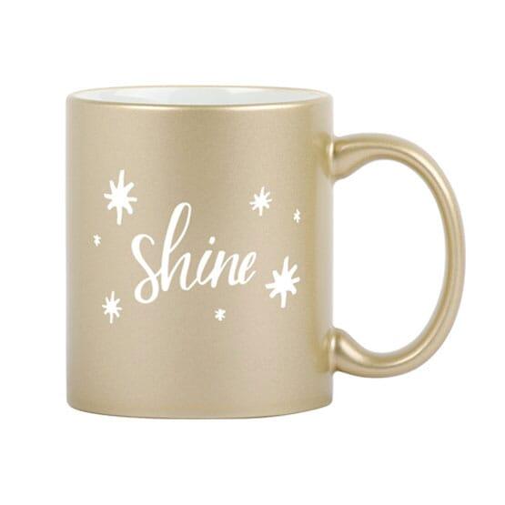 11 oz Sparkle and Shine Mug