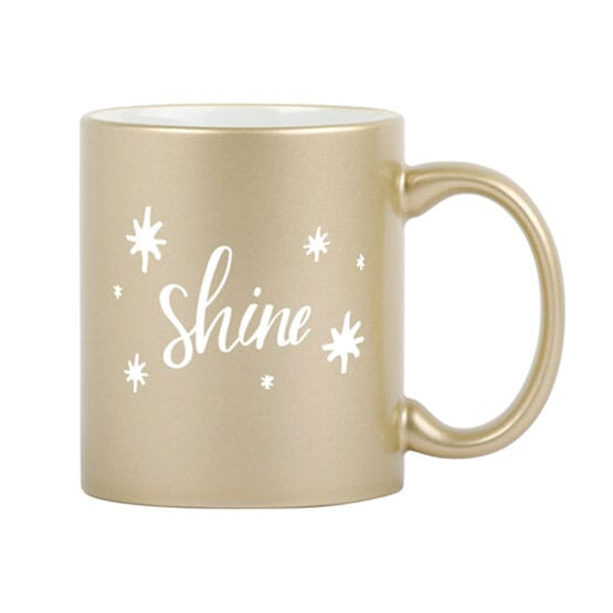 11 oz Sparkle and Shine Mug