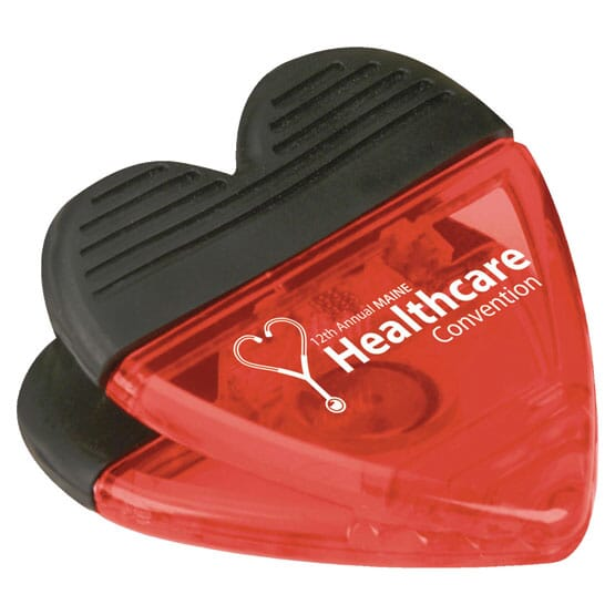 Heart Shaped Magnetic Clip 121437