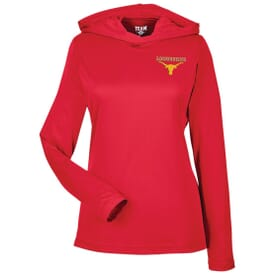Ladies' Active Life Easy-Care Performance Hoodie