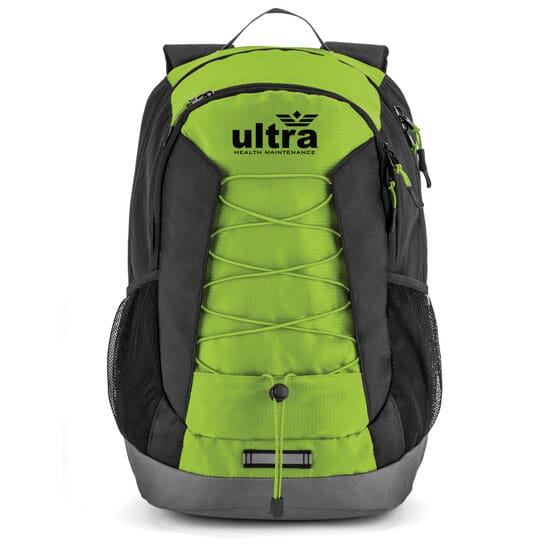 Green and Black Basecamp Ascent Backpack