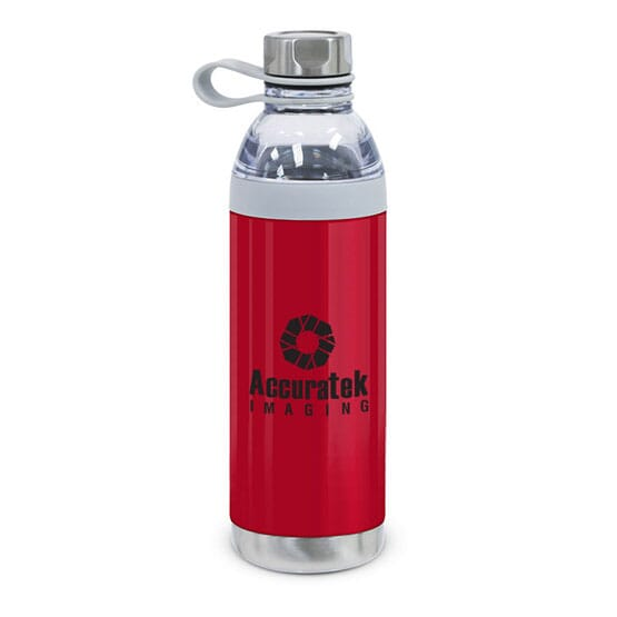 20 oz Polished Stainless Steel Water Bottle