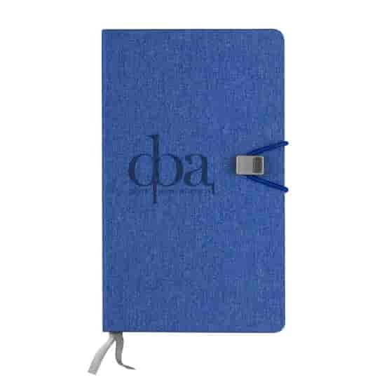 Half Graph/Half Lined Journal Notebook