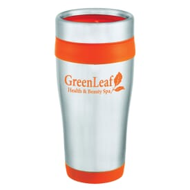 16 oz Accents Stainless Tumbler - 24hr Service