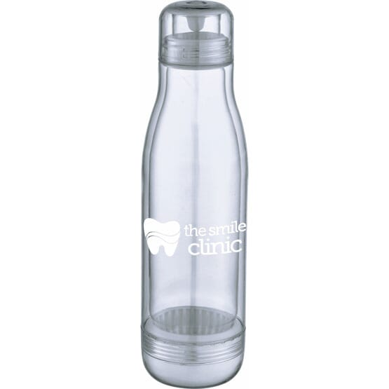 17 oz See-Through Tritan™ Glass-Lined Water Bottle