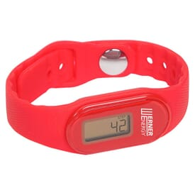 Tap 'n' Track Fitness Pedometer Watch