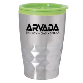 12 oz Stainless Steel Diamond Cut Tumbler